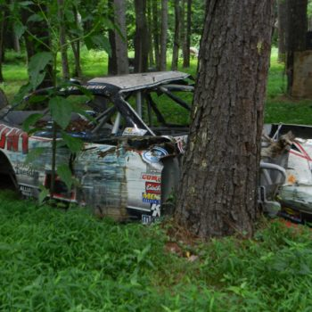 Dale Earnhardt Jr Race Car Graveyard