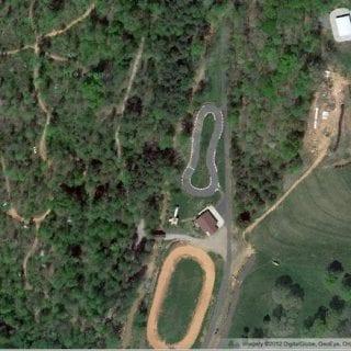 Dale Earnhardt Jr Race Car Graveyard Aerial Photo