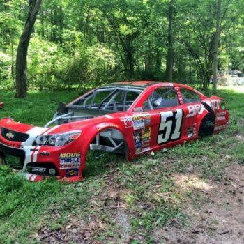 Dale Earnhardt Jr Race Car Graveyard Collection