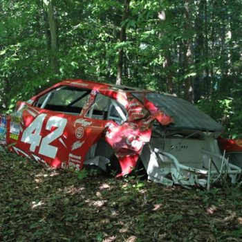 Dale Earnhardt Jr Race Car Graveyard Juan Pablo Montoya Jet Dryer Car