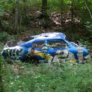 Dale Earnhardt Jr Race Car Graveyard Miller Lite