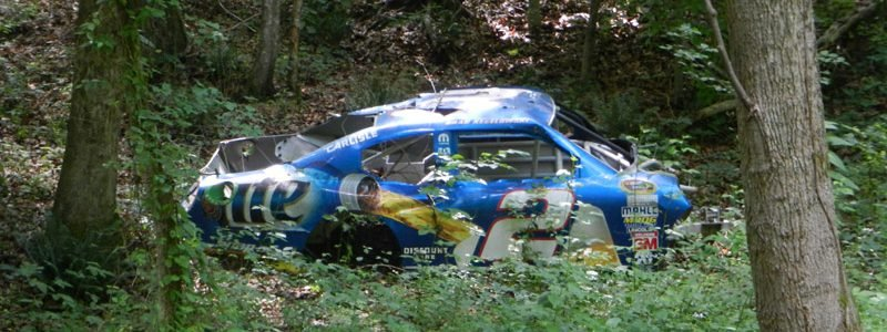 Dale Earnhardt Jr Race Car Graveyard