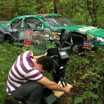 Dale Earnhardt Jr Race Car Graveyards