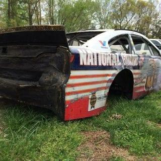 Dale Earnhardt Jr RaceCar Graveyard