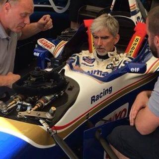 Damon Hill Williams FW18