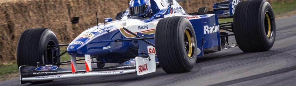 Damon Hill Williams FW18 F1 Car Reunited