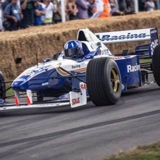 Damon Hill Williams FW18 F1 Car