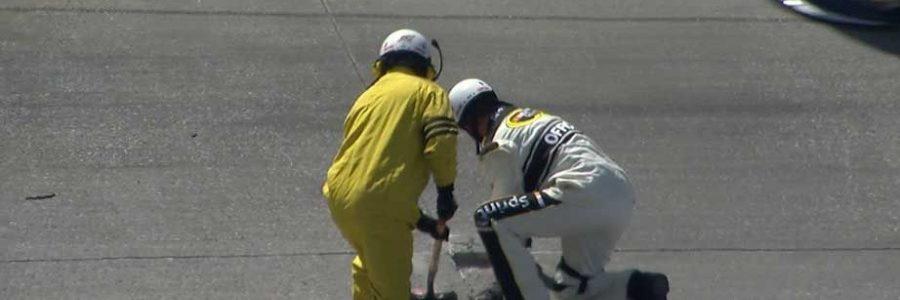 Dover Pothole Halts NASCAR Race
