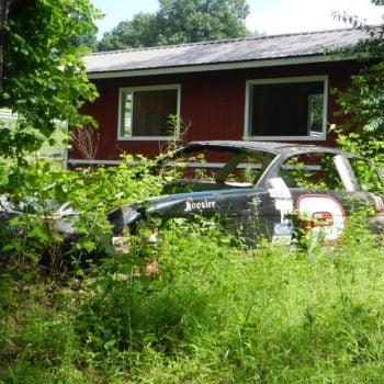 Earnhardt Jr Race Car Graveyard