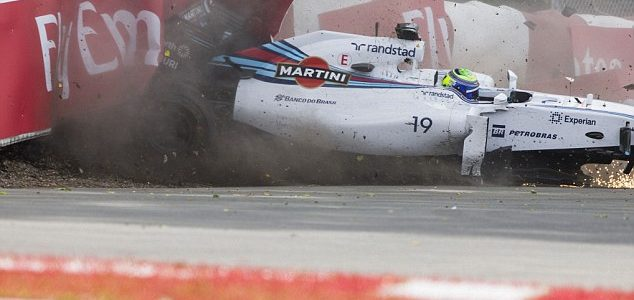 Felipe Massa Sergio Perez Crash, Drivers Place Blame