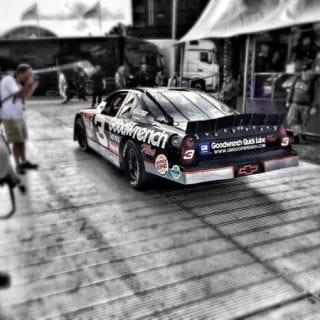Kerry Earnhardt Drives A Dale Earnhardt Sr Car Goodwood Festival of Speed