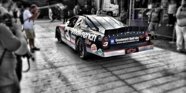 Kerry Earnhardt Drives Dale Earnhardt Sr Car