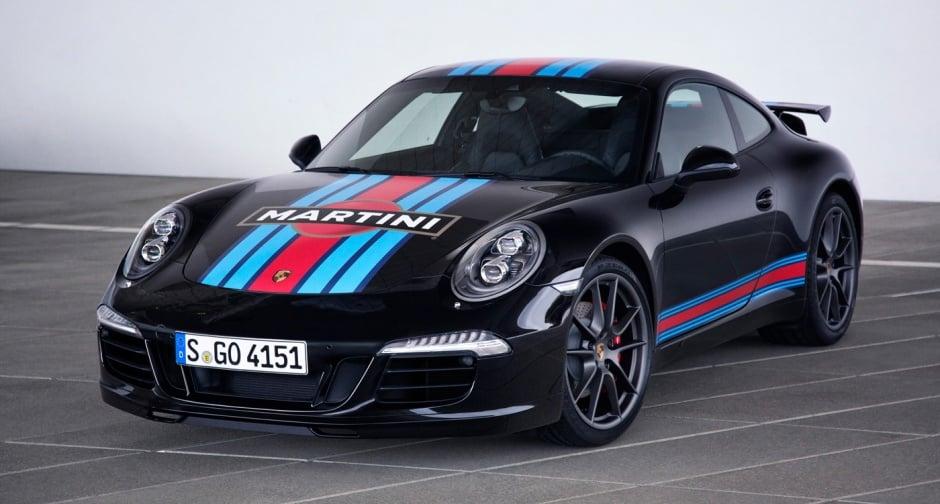 Martini Porsche 911 S Martini Racing Edition Black