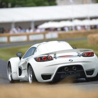 Sin Cars R1 On Track GoodWood Festival of Speed