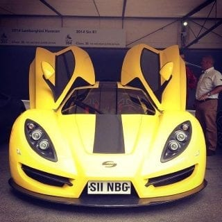 Sin Cars R2 GoodWood Festival of Speed