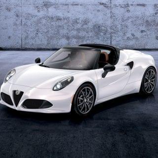 Alfa Romeo 4C Spider Front