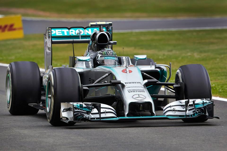 British Grand Prix Qualifying Times 2014 ( Nico Rosberg Pole )