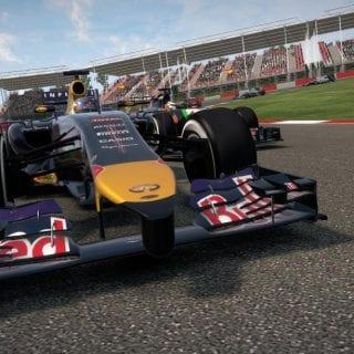 F1 2014 Game Screenshots ( Red Bull Racing )