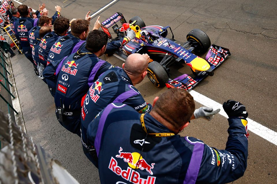 F1 Hungarian Grand Prix Results 2014 Daniel Ricciardo