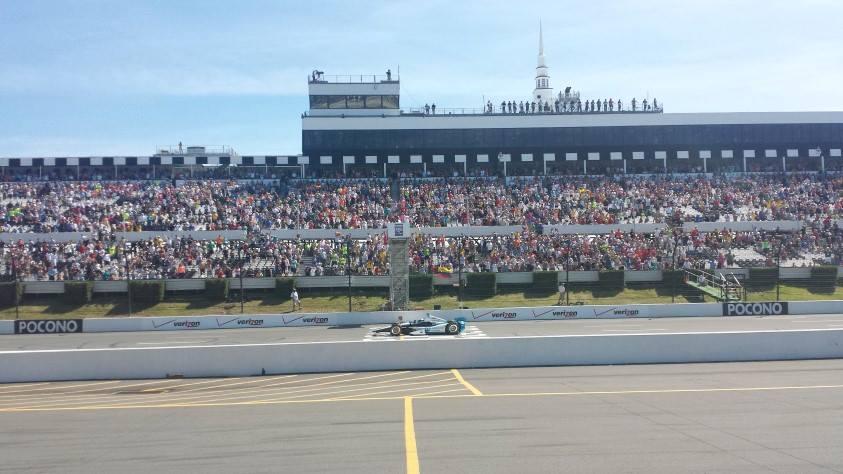 IndyCar Pocono Results 2014 ( Juan Pablo Montoya )