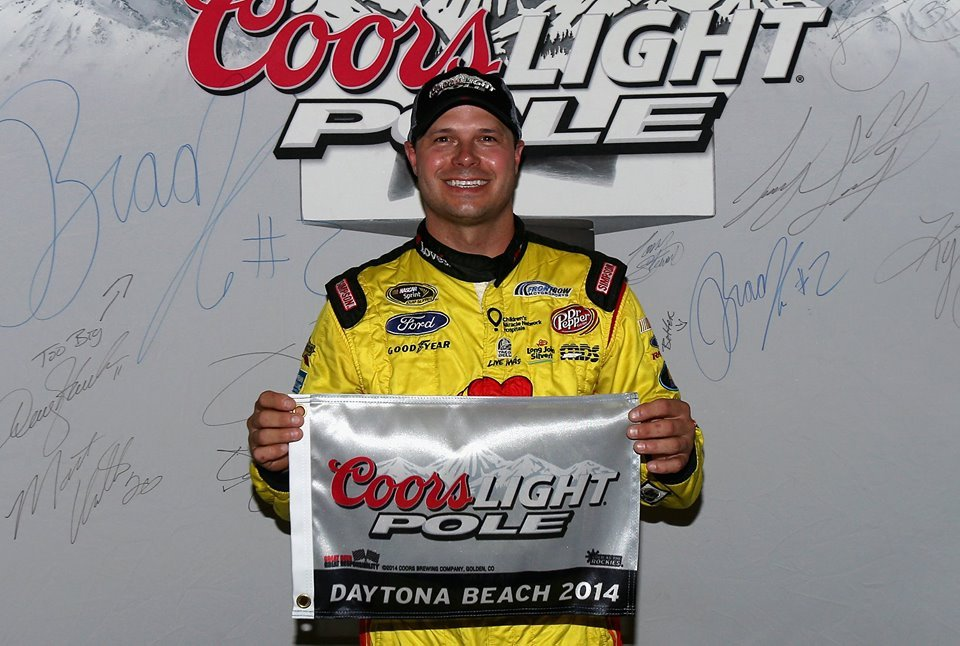 NASCAR Daytona Qualifying Results 2014