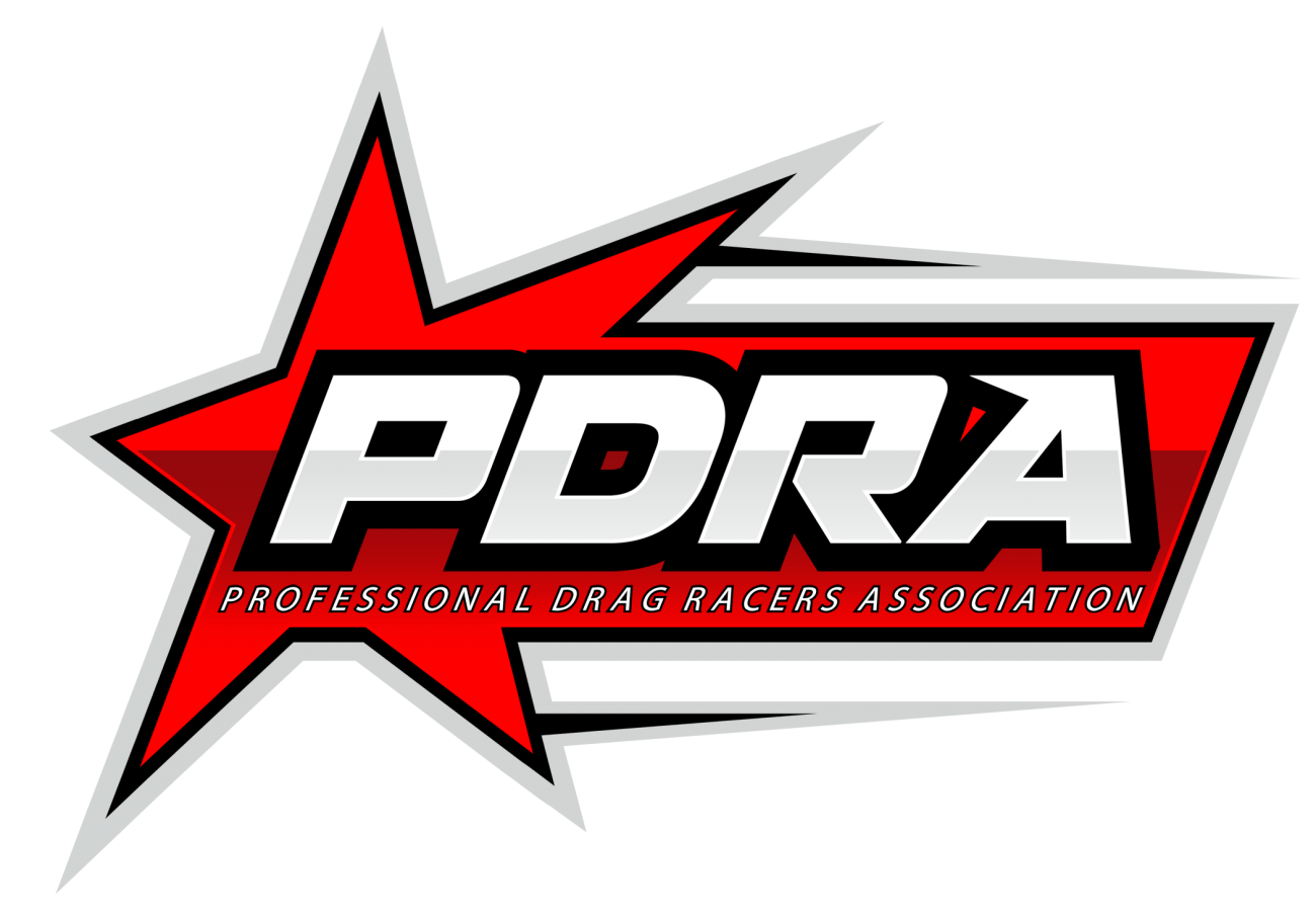 Phil Esz Resets Top Dragster Record PDRA Logo