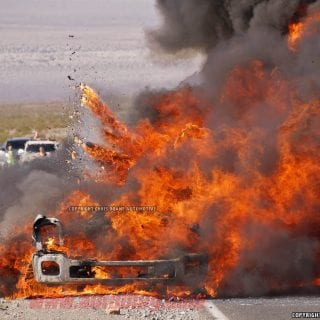2016 Ford Super Duty Prototype Explodes In Death Valley