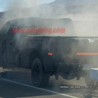 2016 Ford Truck Explodes In Death Valley 4-1