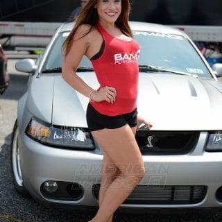 American Muscle Car Show 2014 Bama Girl