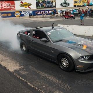 American Muscle Car Show 2014 Graffiti Mustang