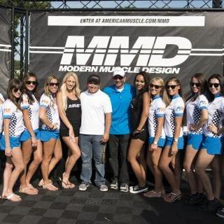 American Muscle Car Show 2014 MMD Girls