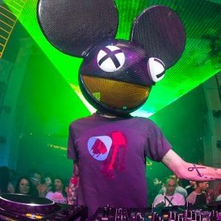EDM DJ Deadmau5 Portrait