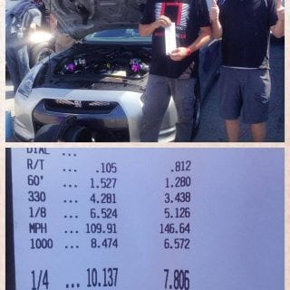 English Racing GTR World Record Photos