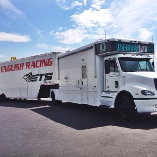 English Racing Team Trailer Photos