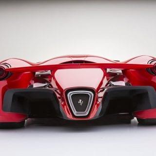 Ferrari F80 Concept By Adriano Raeli Rear