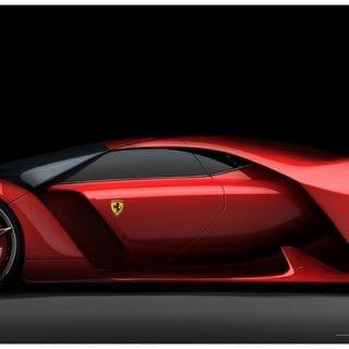 Ferrari F80 Concept By Adriano Raeli Side