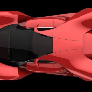 Ferrari F80 Concept By Adriano Raeli Top