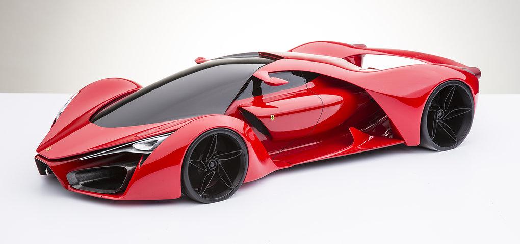 Ferrari F80 Concept By Designer Adriano Raeli