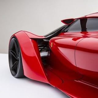 Ferrari F80 Photos Concept By Adriano Raeli Door
