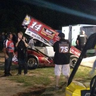 Tony Stewart Sprint Car Crash Reportedly Kills Driver ( Tony Stewart Pit )
