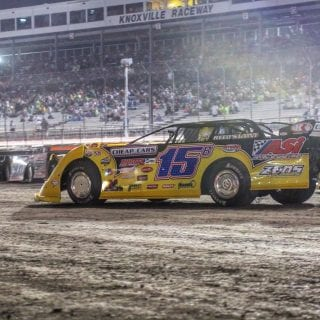 Brian Birkhofer Lucas Oil Late Model Nationals Night Two Photo