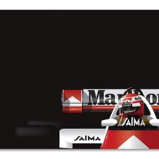 Racing Art Collection by Racer Magazine Ricardo Santos Niki Lauda