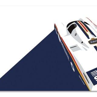 Racing Art Collection by Racer Magazine Ricardo Santos Porsche 962