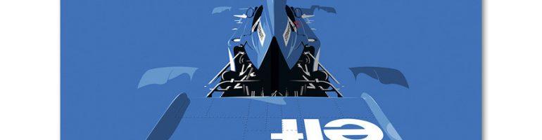 Racer Magazine Racing Art Collection
