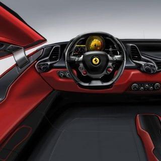 Ferrari Sergio Interior Design Photos