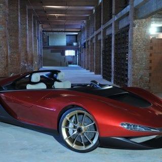 Ferrari Sergio Supercar Side View Photo
