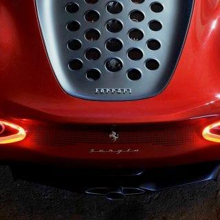 Ferrari Sergio Supercar Top View Photo
