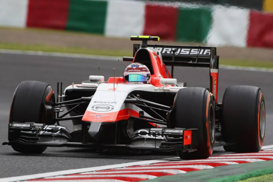 Marussia F1 Team Single Car Team Max Chilton