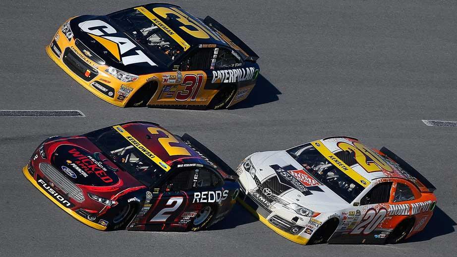 NASCAR Talladega Results 2014