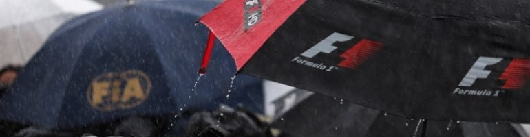 Typhoon Threatens F1 Japanese GP